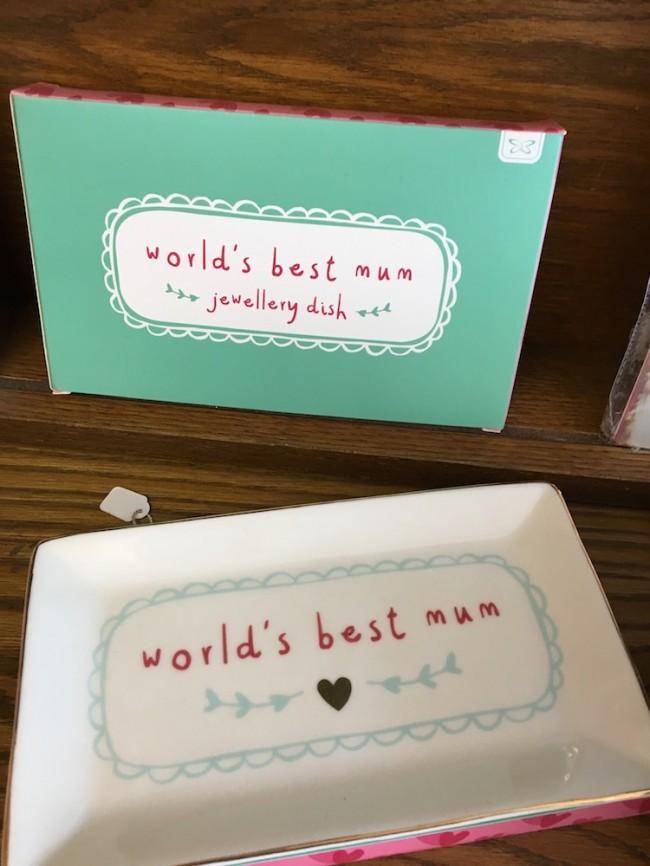 Worlds Best Mum Jewellery Dish